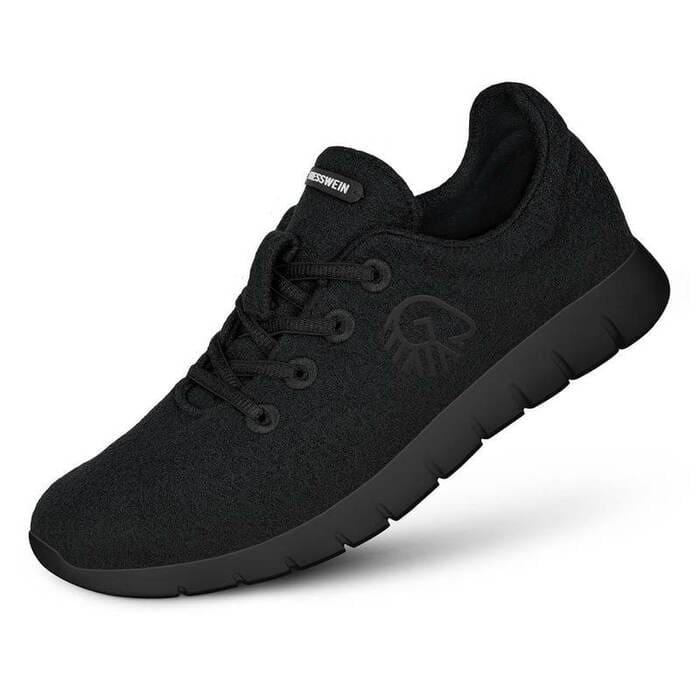 1奧地利 Merino Runners 史上最柔軟 運動鞋022 black 黑
