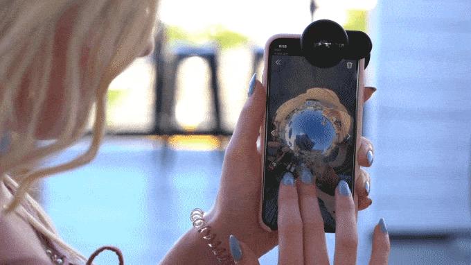 1FusionLens 2.0 無須用電 全景防震手機鏡頭 (1)