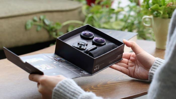 1FusionLens 2.0 無須用電 全景防震手機鏡頭