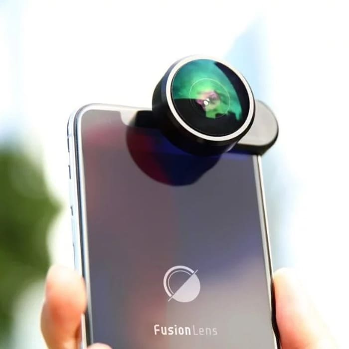 4FusionLens 2.0 無須用電 全景防震手機鏡頭
