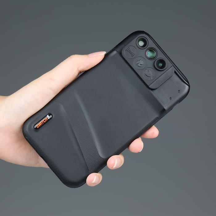 5美國 Switch 6 六合一鏡頭 手機殼xr