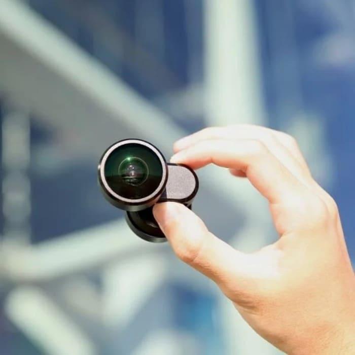 6FusionLens 2.0 無須用電 全景防震手機鏡頭
