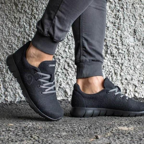 8奧地利 Merino Runners 史上最柔軟 運動鞋029 anthracite 花灰