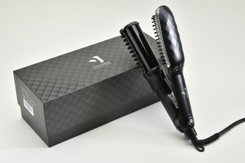 Vice Versa 捲髮界明星頭髮造型器_黑色別注版7