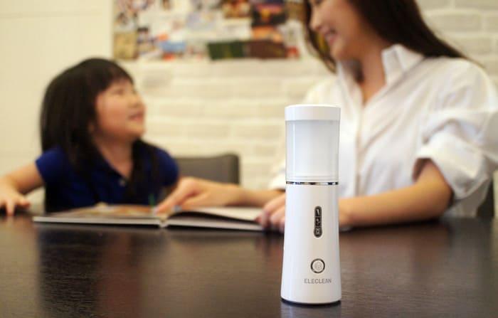 台灣 EleClean 只需清水 消毒噴霧製造機10