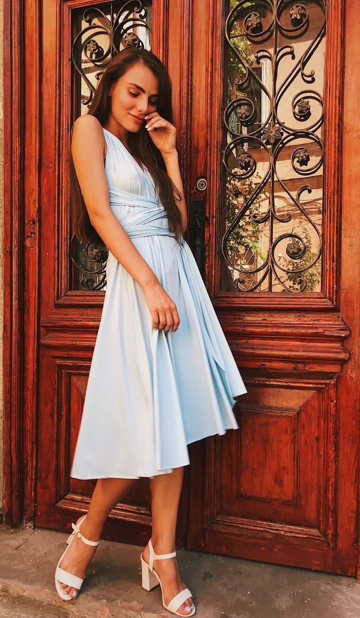 烏克蘭 Omnia Chéri 最優雅 百搭連身裙12