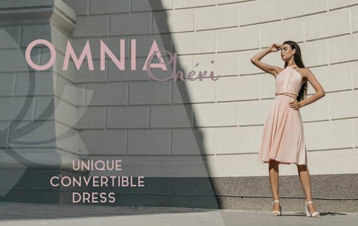 烏克蘭 Omnia Chéri 最優雅 百搭連身裙2