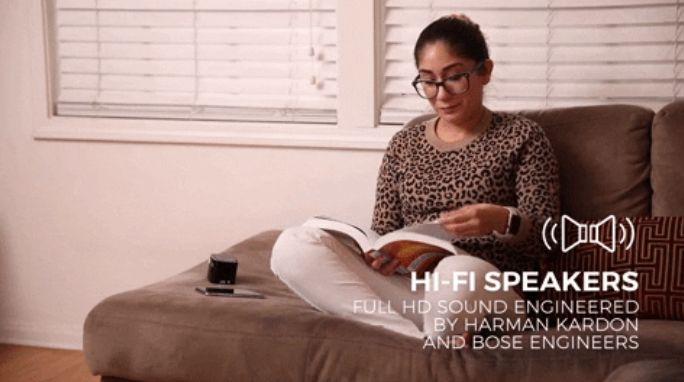 美國 PIQO 極細 1080p HD智能投影機 speaker