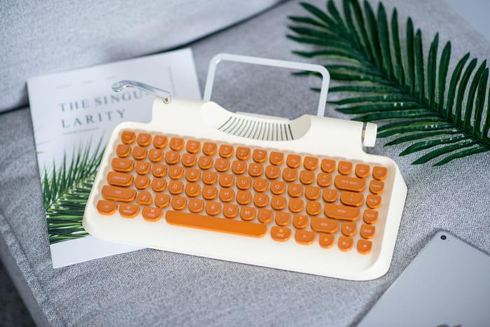 Rymek 復古藍牙 機械鍵盤58