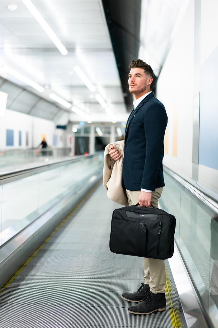 加拿大 Flypack 48小時 短途旅行專用 背包9