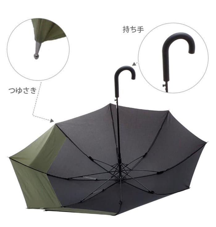 日本 WPC 情侶專用 特別加長版雨傘8