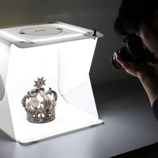 美國 Foldio 2 Plus 折疊式 便攜攝影燈箱2