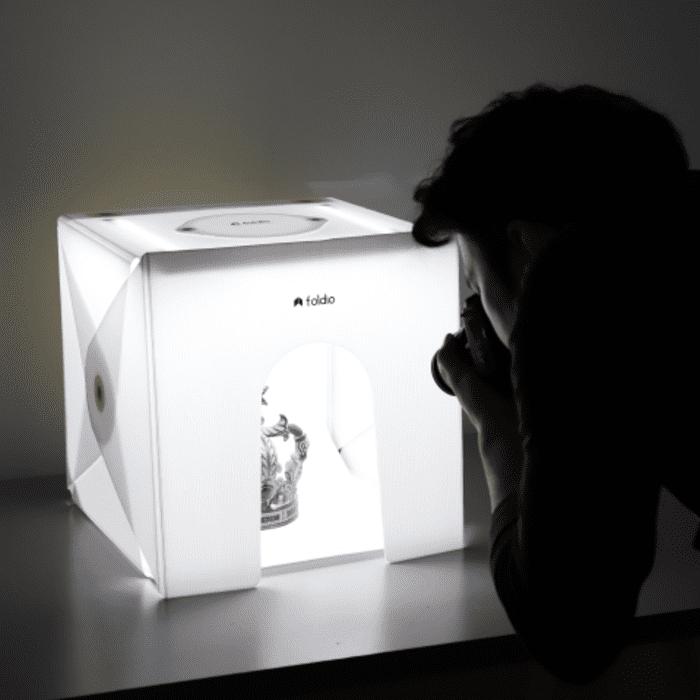 美國 Foldio 2 Plus 折疊式 便攜攝影燈箱6