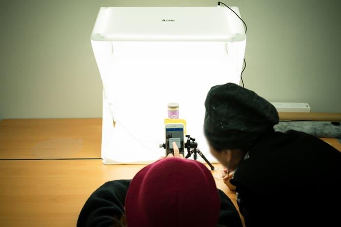 美國 Foldio 2 Plus 折疊式 便攜攝影燈箱8