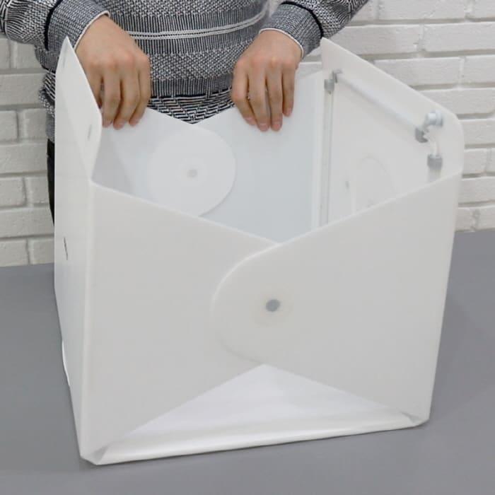美國 Foldio 2 Plus 折疊式 便攜攝影燈箱9