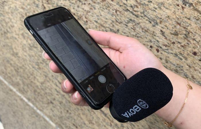 Boya iPhone專用 手機收音咪1