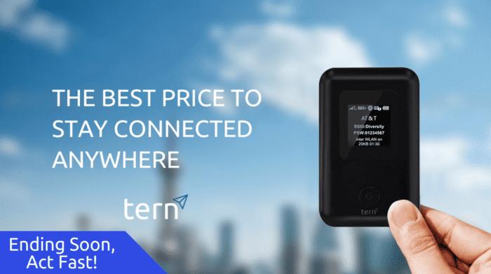 Tern 旅行必備 全球 4G數據連接 神器5