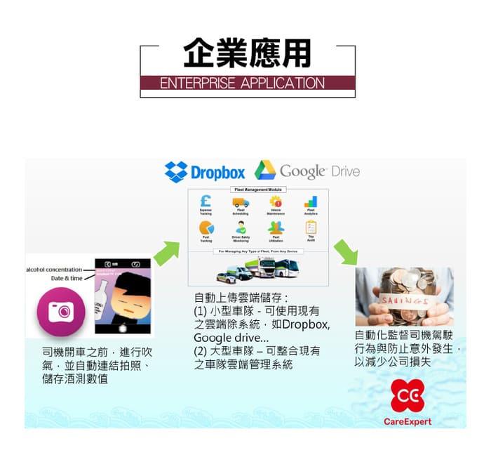 台灣 CareExpert 藍芽呼氣 酒測器12
