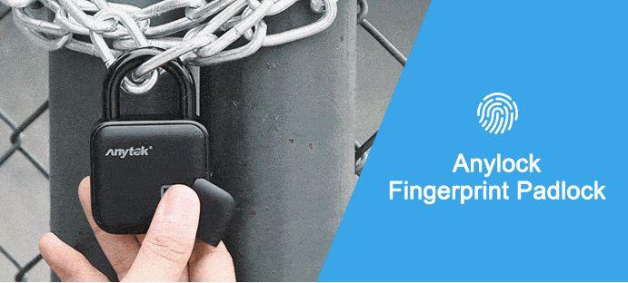 美國 Anylock 指紋辨識鎖5