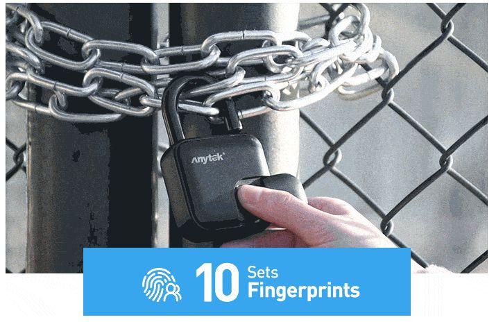 美國 Anylock 指紋辨識鎖6