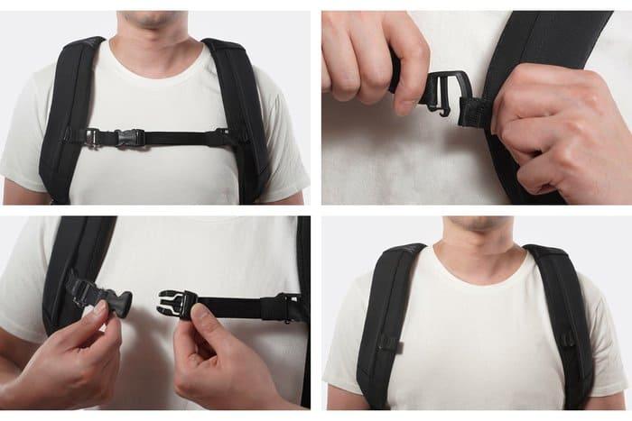 台灣 Comfortpack 緩衝減壓背包8