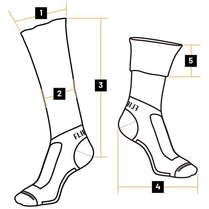 台灣 FLIPPOS 翻轉壓力襪size-simple