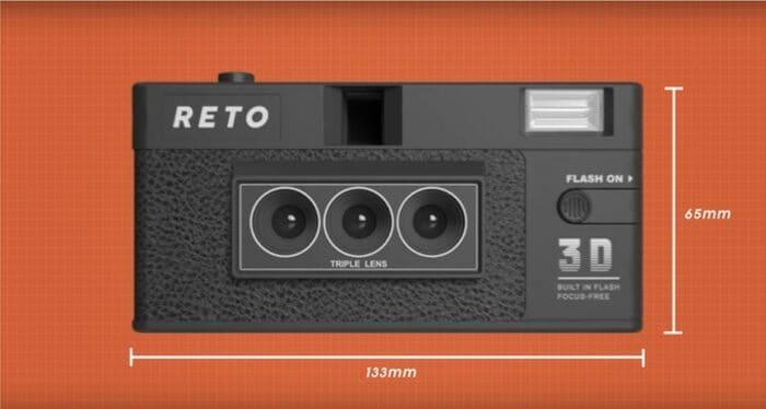 RETO3D 全球首部 3D菲林相機2