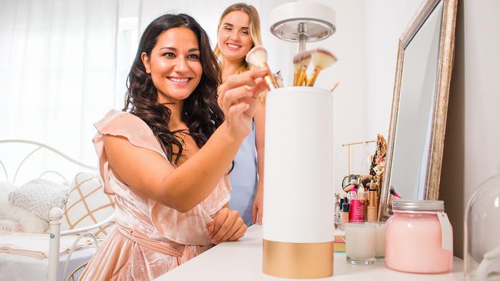 美國 Brushean 智能化妝掃 消毒機8