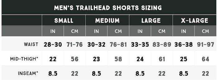 trailhead_short_size_0crdo美國 Trailhead 行山專用 短褲