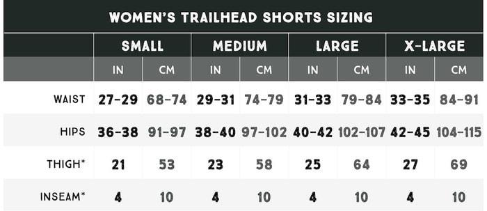trailhead_short_size_8rX98美國 Trailhead 行山專用 短褲