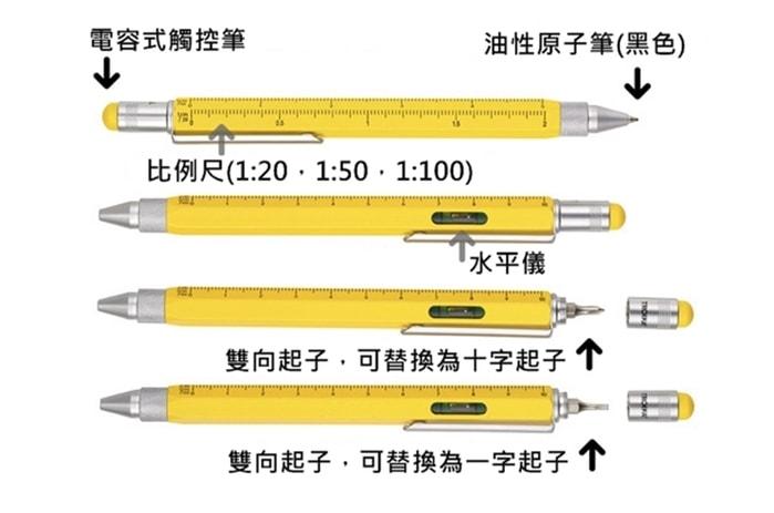 德國 TROIKA 多功能 工具筆2