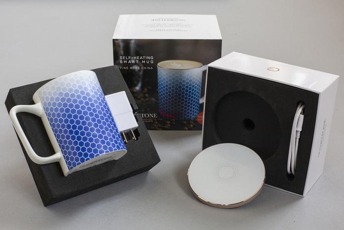 英國 Glowstone 智能無線發熱 骨瓷杯5