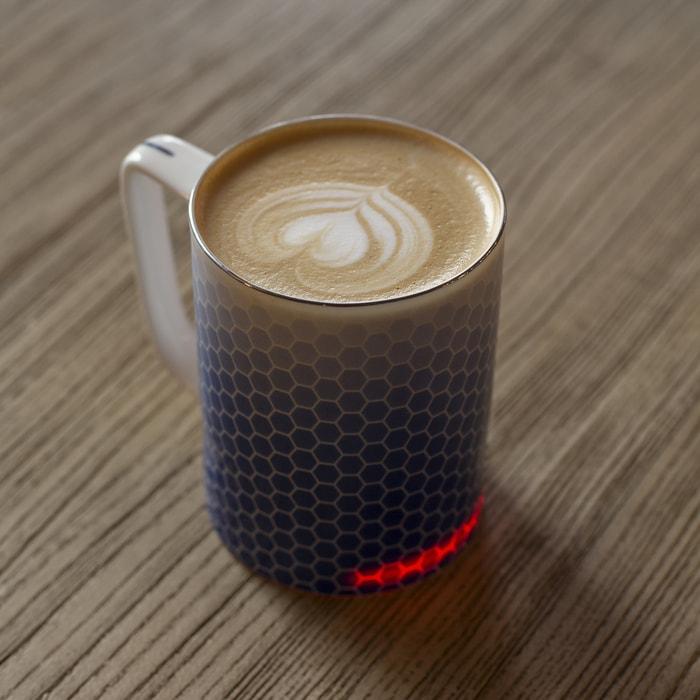 英國 Glowstone 智能無線發熱 骨瓷杯7