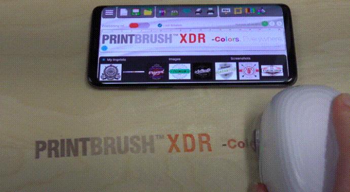 全色噴墨打印機 PrintBrush
