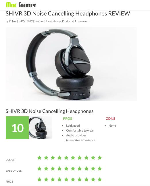 美國 SHIVR 降噪3D無線耳機23000