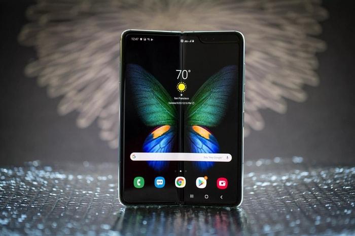 韓國 Galaxy Fold 摺疊式 智能手機15