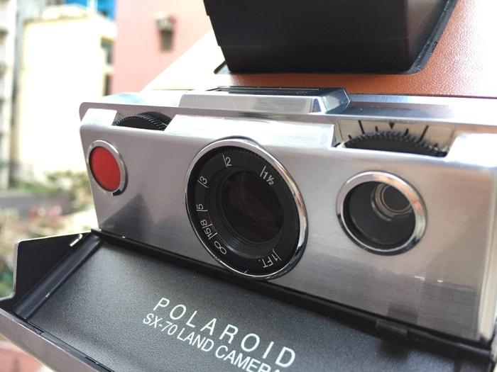 美國 Polaroid™ SX-70系列 即影即有古董相機5