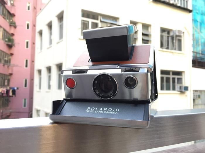 美國 Polaroid™ SX-70系列 即影即有古董相機7