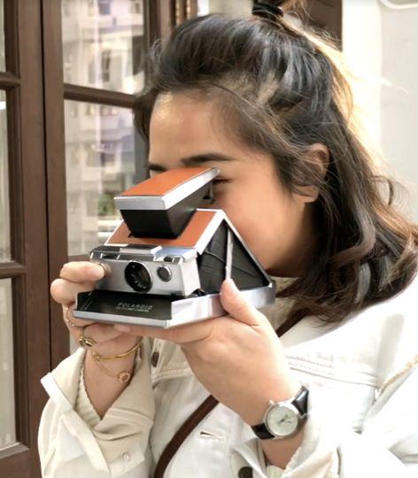 美國 Polaroid™ SX-70系列 即影即有古董相機cover