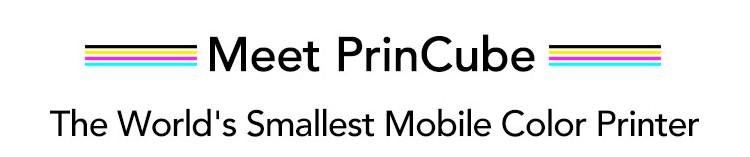 美國 PrinCube 極細手握彩色打印機 cover