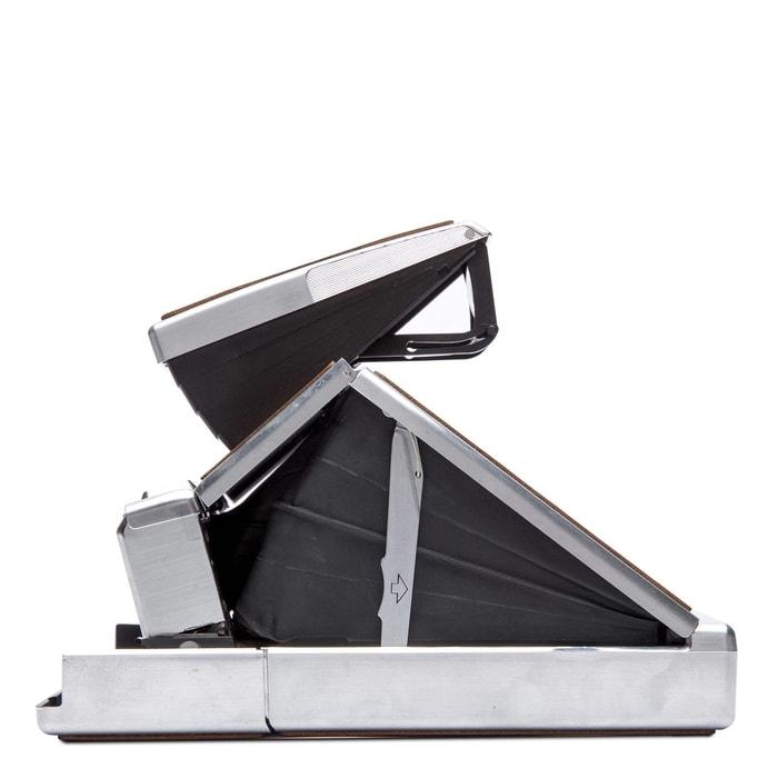 4695_silver_brown美國 Polaroid™ SX-70系列 即影即有古董相機