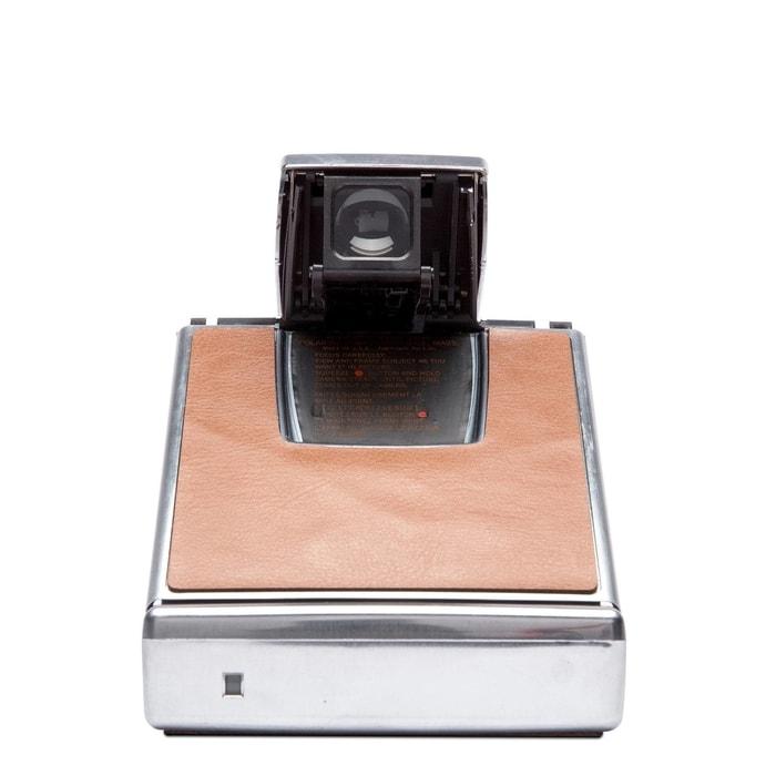 4695_silver_brown4美國 Polaroid™ SX-70系列 即影即有古董相機