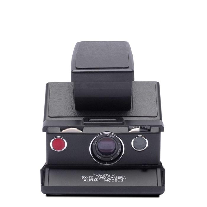 4696_black_black1____awvIM美國 Polaroid™ SX-70系列 即影即有古董相機