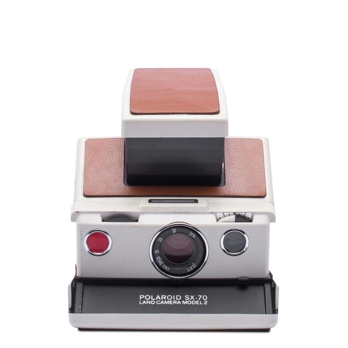 4697_white_brown1____yOsUK美國 Polaroid™ SX-70系列 即影即有古董相機