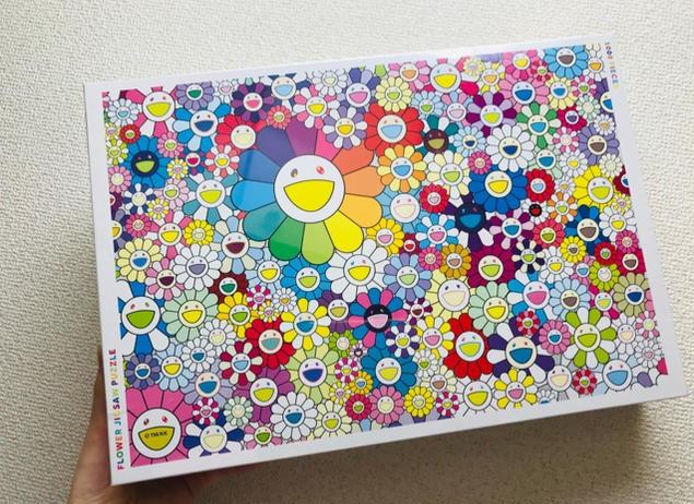 村上隆 お花ジグソーパズル FLOWER JIGSAW PUZZLE 2