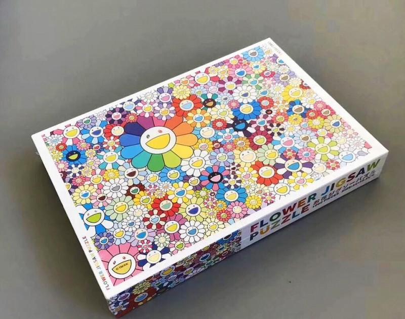 村上隆 お花ジグソーパズル FLOWER JIGSAW PUZZLE 4