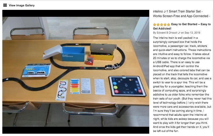 美國 Intelino 智能小火車 - 套裝 Review 1