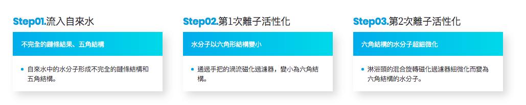 韓國 IONSPA 抑菌磁化離子水花灑套裝2
