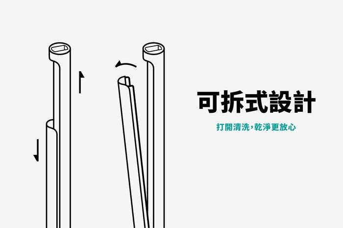 33香港 Green One 可重用飲管