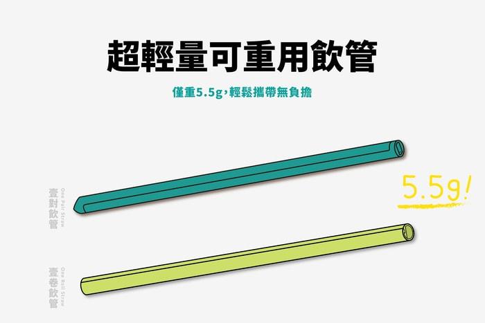 37香港 Green One 可重用飲管
